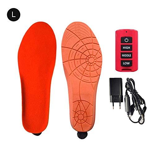 Semelle chauffante, chaussures chauffantes rechargeables USB, avec télécommande pour chauffe-bottes ou chasse au peche, randonnée, camping, tailles multiples, gardez vos pieds au chaud, unisexe