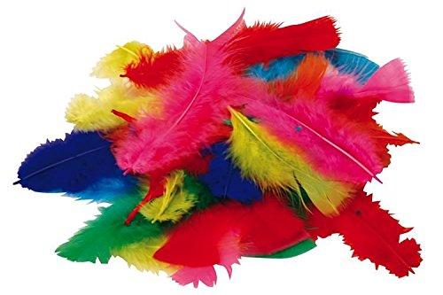 Marabu Manualidades (plumas Mixta Pack 50g muchos 100unidades)