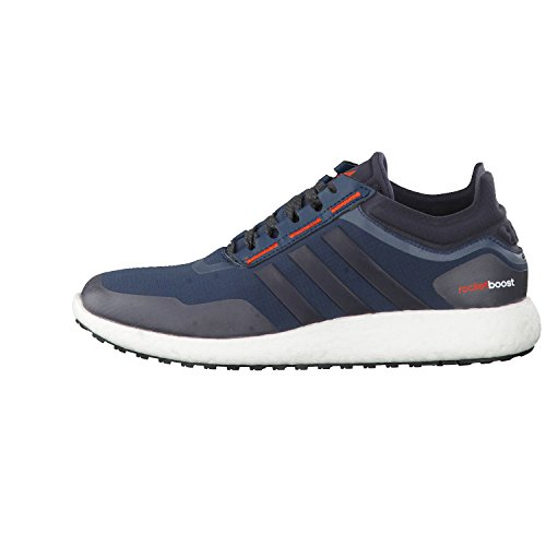 adidas Chaussures Running CLIMAHEAT ROCKET BOOST Homme midnight f15-dark grey-gold ochre f15