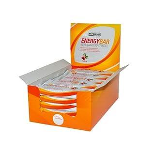 AMSPORT Energy Bar Karton 25x60g Riegel Cranberry