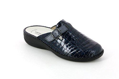 GRÜNLAND Ce0109, Pantofole Aperte sulla Caviglia Donna Blu