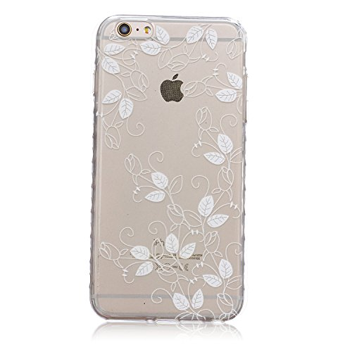 ZeWoo TPU Schutzhülle - BF050 / Hip-hop Owl - für Apple iPhone 6 Plus (5,5 Zoll) Silikon Hülle Case Cover BF047 / Romantic Flower