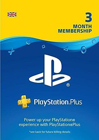 PlayStation Plus: 3 Month Membership | PS4/PS3 | PSN Download