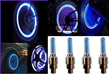 B TO B TRADERS Universal Blue Bike Tyre Led Wheel Light With Motion Sensor - Set Of 4 For All Car  available at amazon for Rs.135
