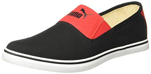 daeb273c0 Amazon Offers – Puma Men s Clara Idp Black-High Risk Red Loafers – 10 UK  India (44.5 EU) (36637501) at only Rs. 1319.00