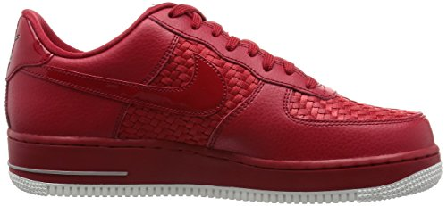 Nike Air Force 1 '07 Lv8, Chaussures de Sport Homme, Weiß, Eu Rouge - Rojo (Rojo (Gym Red/Gym Red-Smmt Wht-Chrm))