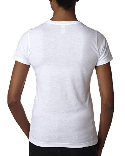 Next Level Damen T-Shirt Weiß - weiß