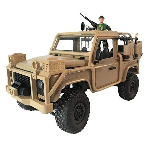 Fernbedienung Auto High Speed   Spielzeugauto Spielzeug 1:12 RC Auto 2,4G 4WD Cabrio Jeep Fernbedienung Licht 4-Rad-Antrieb Off-Road-Kletter-Spielzeug für Kinder