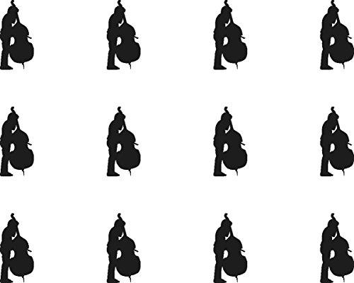 12x Z (Buchstabe) schwarz und weiß 38mm (3,8cm) vorgeschnittenen Essbares Reispapier Cupcake Dekoration # 51