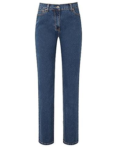 Cotton Traders Womens Stretch Jeans Ladies Zip 5 Pocket Leg