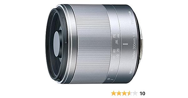 Tokina Reflex Macro Objektiv Silber Kamera