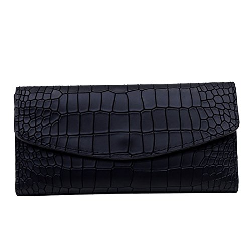 HT Ladies Evening Handbags, Poschette giorno donna Black