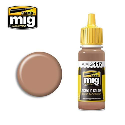 AMMO MIG-0117 Warm Skin Tone Acrylfarben (17 ml), Mehrfarbig