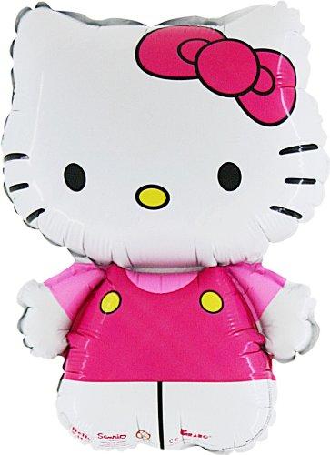 Rosa Folie Ballon (CS136) gekleidet [Spielzeug] (Hello Kitty Ballons)