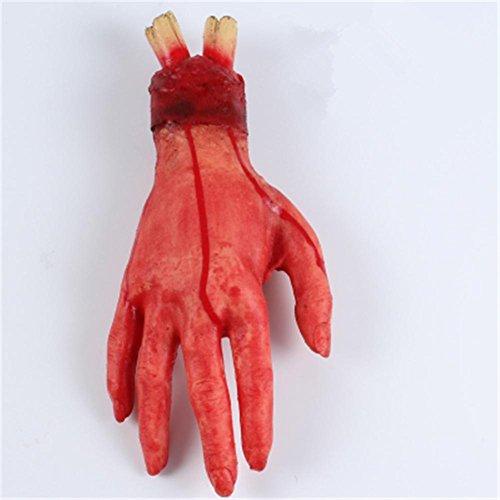 Halloween Props Horror Bloody Fake Hand Fake Fuß gebrochene Hände und Füße des Satzes Die Horror Requisiten , women short (Uk Kostüme Tanz Themen)