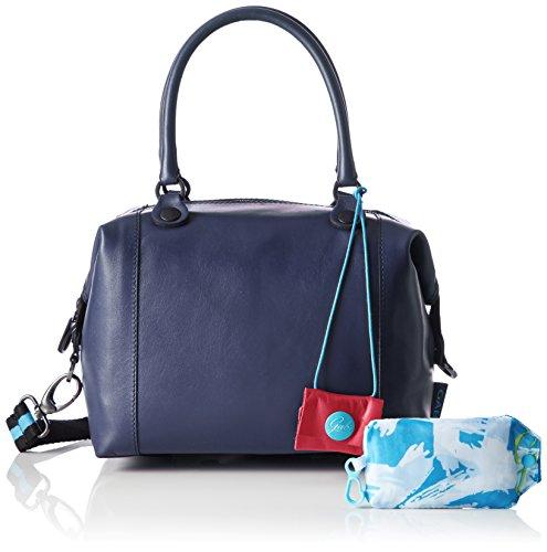 Gabs Damen G3 Henkeltasche, 1x31x38 cm Blau (Blue)