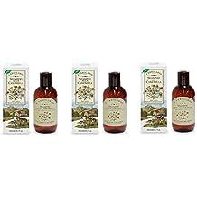 L 'Erbolario–Champú de manzanilla para cabello rubio 200ml–Cabello Rubio y castaño claros–3paquetes