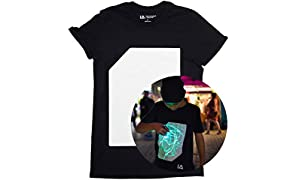 Illuminated Apparel T-Shirt Fluorescente Interattiva