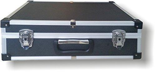 XL Alukoffer Aluminiumkiste Werkzeugkiste Werkzeugkoffer Aufbewahrungskoffer Alukiste
