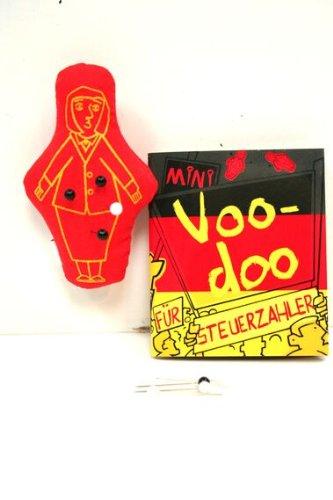 Voodoo Puppe Steuerzahler Set mit Nadeln und Handbuch *VK 6,90 VOODOOPUPPE