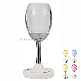 Asiawill® 2 W 2,4 G LED Weinlicht RGB Wein MI Licht Einstellbare Weinlampe Touch Screen Nachtlicht