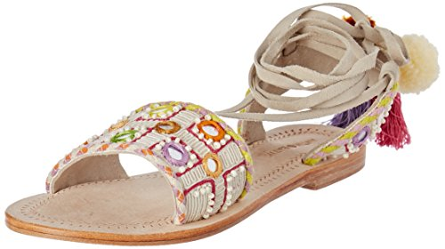 Antik Batik Nootki, Tongs Femme Multicolore (Multico)