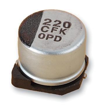 Capacitors - Aluminium Electrolytic - CAP ALU ELEC 10UF 25V