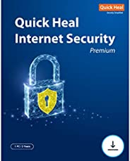 Quick Heal Internet Security - 1 Users, 3 Years (Email Delivery in 2 hours- No CD)