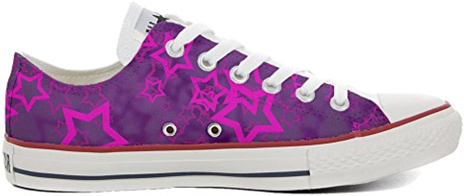 mys Converse All Star Low Customized Personalisiert Schuhe Unisex (Gedruckte Schuhe) Young Star