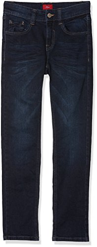 s.Oliver Jungen 5-Pocket Hose, Blau (Blue Denim Stretch 58Z2), 164