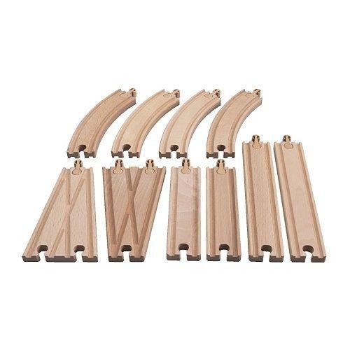 ikea-rail-set-para-wooden-railway-lillabo-10-piezas-pista-y-los-interruptores-madera-maciza