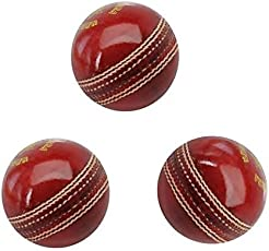 Tima Online Shopping Leather Cricket Ball Set of 3