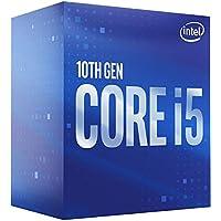 معالج كمبيوتر مكتبي إنتل BX8070110400 كور i5-10400 ، 6 نواة حتى 4.3 جيجاهيرتز LGA1200 (انتل مجموعة شريحة 400) 65 وات