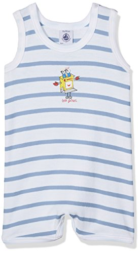 Petit Bateau Combicourt_23842, Mono para Bebés