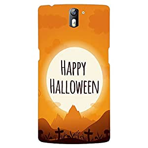 PrintVoo Halloween Grave Printed Mobile Backcover for OnePlus 1 / OnePlus One / One plus 1