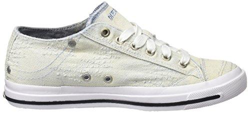 Diesel Y00637 P1234, Sneaker Basse Donna Blu