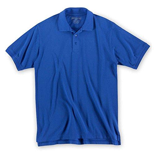 5.11Herren Utility Short Sleeve hoch Polo Shirt Academy Blue