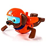 PAW PATROL Paddlin' Pups Badewannenspielzeug - Zuma [UK Import]