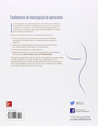 FUNDAMENTOS DE INVESTIGACION DE OPERACIONES