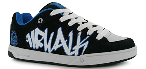 outlaw-chaussures-style-skate-a-lacets-junior-garcon-chaussures-black-wht-blue-38-eu