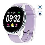 GOKOO Montre Connectée Femmes Smartwatch Femme Bluetooth Montre Sport Écran Tactile Montre...