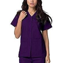 Casaca Laboral de Enfermería para Mujeres - 604 Color PRP | Talla: M