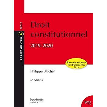 Les Fondamentaux - Droit Constitutionnel 2019 -2020