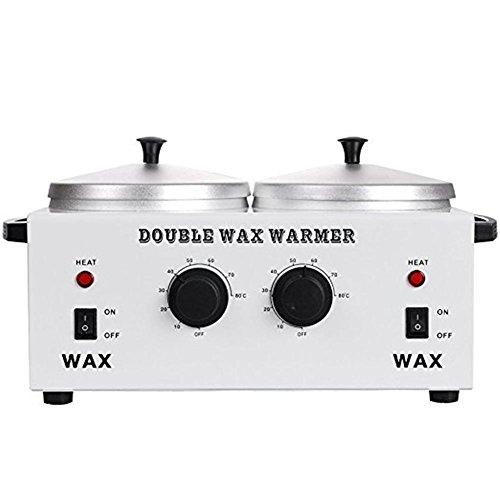 Wachs Wärmer Professional Doppelt Pot Haar Entfernung Wax Heater, Elektrisch Wachs Wärmer Maschine Schnelle Schmelze Tragbar Schmelzen Pot - Schmelztiegel Für Wachs