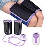 Elektrische Beine, Luftkompressionsmassagegerät, Fußmassage, Beinbandagen für Wadenarm, Fußzirkulation, mit 9 verstellbaren Modellen, Fernbedienung