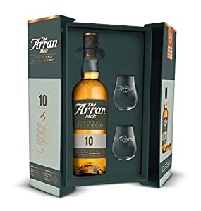The Arran Malt 10 Year Old Gift Pack 70cl from Beam international