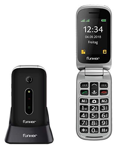 BOTON SOS: El Funker C75 incorpora botón trasero SOS que activa una secuencia de llamadas y mensajes configurable por el usuario. --------------------------------------- GRAN AUTONOMIA DE USO:Gracias a la incorporación de una potente batería de 1000 ...