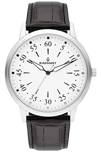 Radiant adrien orologio Uomo Analogico al Al quarzo con cinturino in Pelle di vitello RA492603