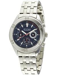 Titan Octane Chronograph Blue Dial Men's Watch -NK9324SM04M