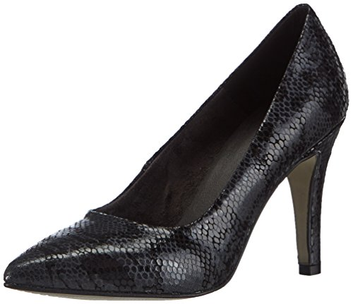Tamaris 22432 Damen Pumps Schwarz (Black Snake 025)